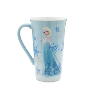 [해외] 디즈니 엘사 머그컵 Disney Store Frozen Elsa Coffee Drink Mug